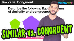 Similar And Congruent Figures Worksheet Difference Between Similar Congruent Figures