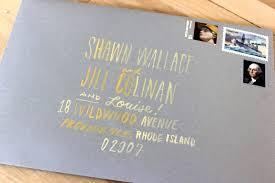 Wedding Envelopes Arley Rose Morgan U0027s Neon Wedding Invitations