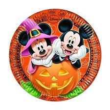 disney mickey mouse paper party plates ebay