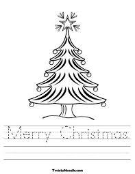 christmas worksheets for kindergarten free printables free
