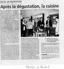 cuisine libourne cours de cuisine au lycée de libourne montagne 17 18 et 24 25 mars