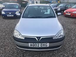 vauxhall corsa 2002 vauxhall corsa sxi 5door cambelt specialists general vehicle