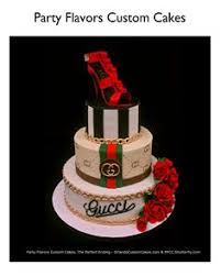 gucci birthday cake gucci pinataglamluxepartydecor free shipping