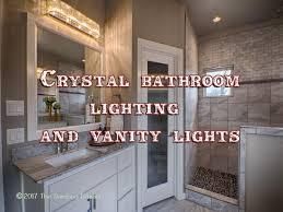 crystal bathroom lighting best bathroom decoration