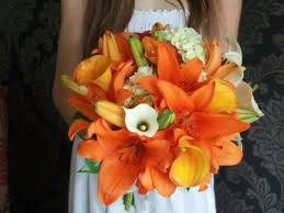 Wedding Flowers Gold Coast Orange Wedding Flowers Tesselaar Flowers