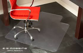 clearest vinyl chair mats for carpet and floor es robbins