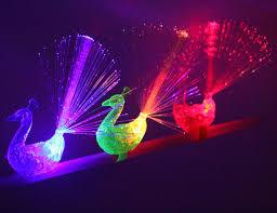 led light up rings 10pcs peacock finger light colorful led light up rings party gadgets