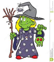 halloween witch costume stock photos image 11779033