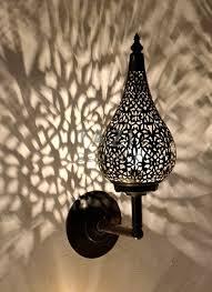 Moroccan Wall Sconce Moroccan Wall Sconce Stalactita Tazi Designs