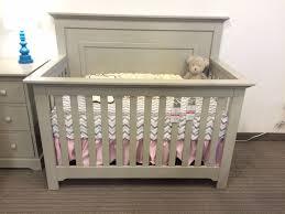 light gray nursery furniture munire chesapeake panel crib in light gray reg 579 sale 429