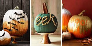 No Carve Pumpkin Decorating Ideas 15 Best Pumpkin Decorating Ideas For Halloween 2017 No Carve