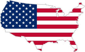 american map usa usa united states of america american map flag sticker decal 5 x