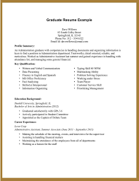 Sample Teacher Resume No Experience Resume No Experience Template Resume For Your Job Application