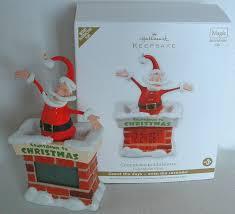 santa countdown to christmas clock chimney hallmark magic motion