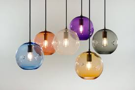 globe pendant lighting by swag lamps for unique glass style clear