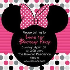 minnie mouse invitations shop minnie mouse invitations on wanelo