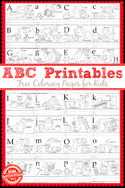 learn to write the abc u0027s with free kids printables