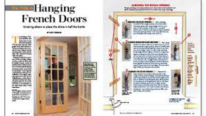 Hanging Interior Doors The Trick To Hanging Doors Homebuilding