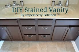 how to refinish bathroom cabinets how to gel stain bathroom cabinets www looksisquare com