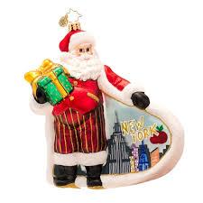 christopher radko ornaments 2014 radko new york city santa