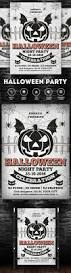 449 best halloween flyer template images on pinterest flyer