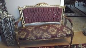 Antique French Settee Unknown Sofas U0026 Chaises Furniture Antiques Picclick