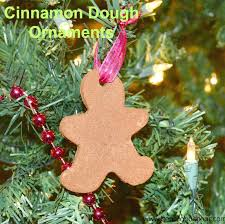 cinnamon dough ornaments with free printable recipe card