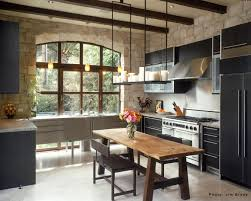 rustic modern kitchen with albertini windows warehouse living