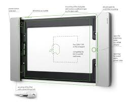 Ipad In Wall Mount Docking Station Ipad Wallmount For Home Automation Meeting Rooms Hospitals