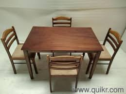 Dining Tables For Sale Mega Sale Quikr Certified 4 Seater Malaysian Wood Dining