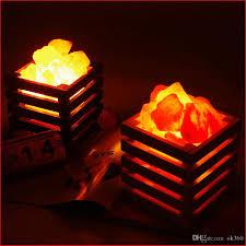 himalayan salt rock light best resin himalayan crystal salt l table l light bedroom