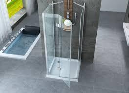 box doccia cristallo 80x80 box doccia cristallo 8 mm 3 lati due fisso piu battente
