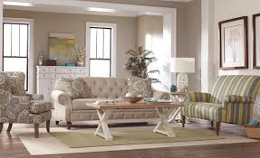 Tufted Living Room Furniture by Traditional Button Tufted Sofa With Wide Flared Arms By