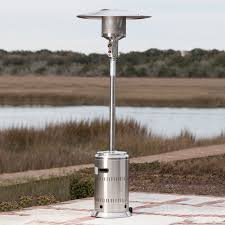 Pyramid Patio Heater by Stainless Steel Commercial Patio Heater Tuffhut