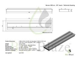 Fireplace Insert Dimensions by Long Bloc 39