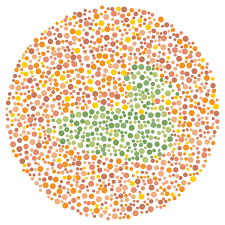 Human Color Blindness Colorblindness Test For Kids I Thought Sam Was Color Blind He