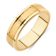 gold wedding band mens s wedding band in 10ct yellow gold