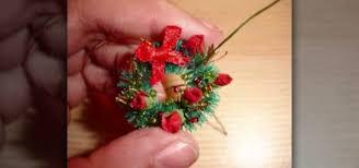 how to make a miniature wreath ideas
