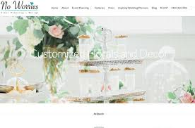 wedding planner website attractive wedding party event planning websites for your