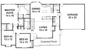 floor plans with wrap around porch plan 1586 3 bedroom country ranch w wrap around porch