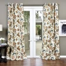 Paisley Curtains Lambrequin Boho Paisley Cotton Curtain Panel Free Shipping Today