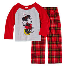 disney family pajamas 2 pc minnie mouse pajama set unisex jcpenney