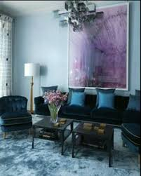 Blue Purple Bedroom - south shore decorating blog more oversized art i u0027ll never tire