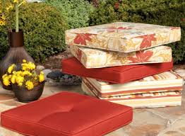 High Back Patio Chair Cushions Bench Miraculous Outdoor Seat Cushions Ebay Shining Outdoor Seat