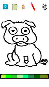 color game pappa pig kids app store