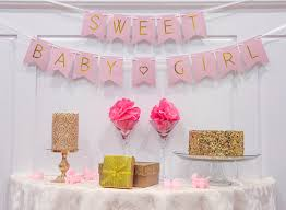 girl baby shower baby shower decorations for girl pastel pink sweet