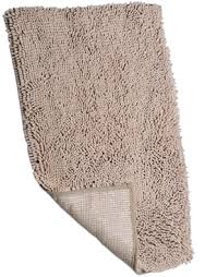chenille microfiber bath mat