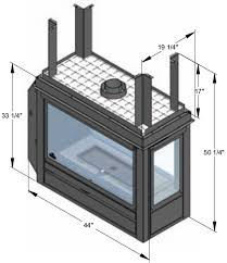 fireplace damper sizes fireplace design and ideas
