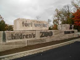 franke park and fort wayne children u0027s zoo sign kmom14 project