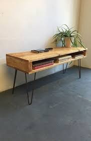 vintage hairpin table legs rustic industrial vintage side table coffee table tv stand on 30cm